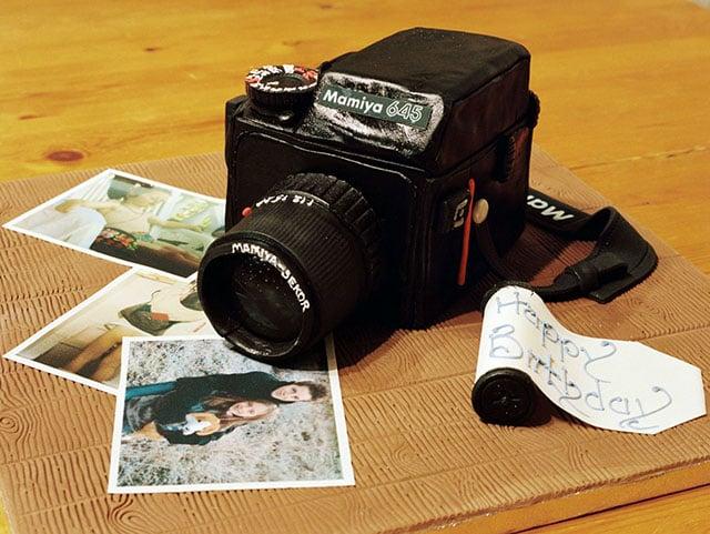 A Mamiya 645 Pro TL Birthday Cake with Sekor 80mm f/2 8 Lens
