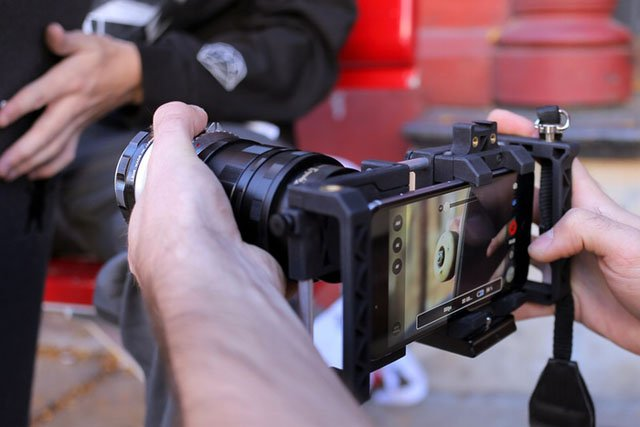 iphone filming rig beastgrip pro is a versatile lens adapter and rig 11839