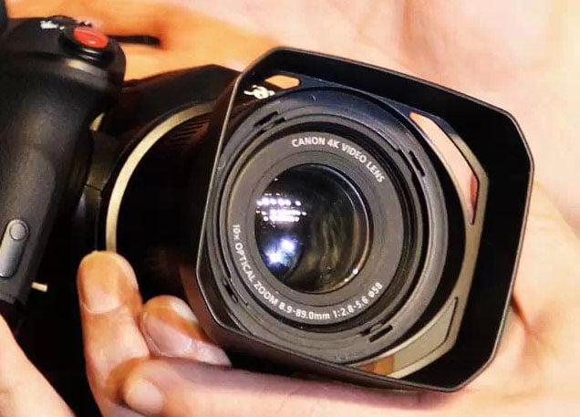 A First Glimpse of Canon's Small 4K Camera