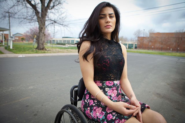 Portraits of People Who Have Been Shot and Scarred by Gun Violence