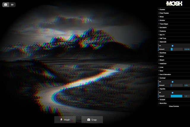 Mosh is a Simple Web App for Glitching Your Photos