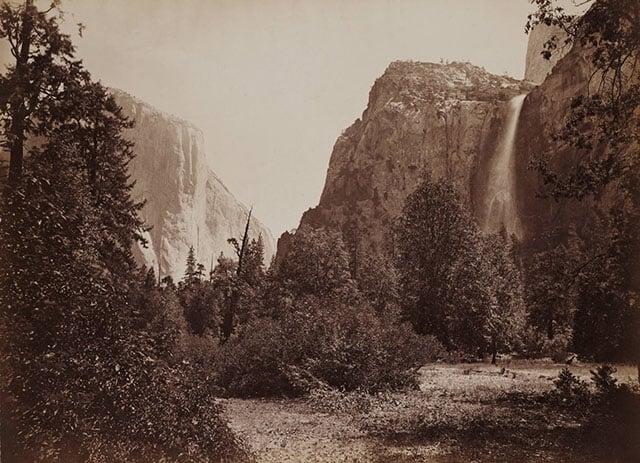 View_of_Tutocanula_Pass_Yosemite_California_by_Carleton_Watkins