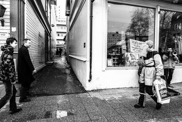 Ten Years of Shooting a Single Alleyway in Norway
