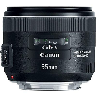 Canon's 35mm f/2, for comparison