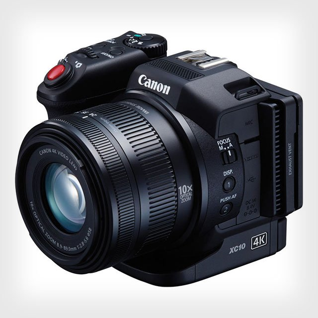 Canon XC10 is a Digital Camcorder for Both 4K Video and Still Photos