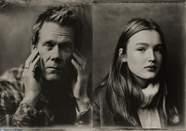 Tintype Portraits of Celebrities at the Sundance Film Festival