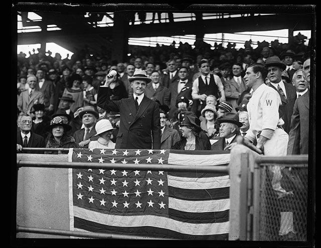 Calvin Coolidge in 1924