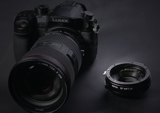 Kipon Unveils the First Canon EF to Micro Four Thirds Lens Adapter with Autofocus