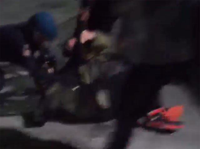Photographer Gets Beaten by Baltimore Police, Gets Up and Keeps Shooting Protests