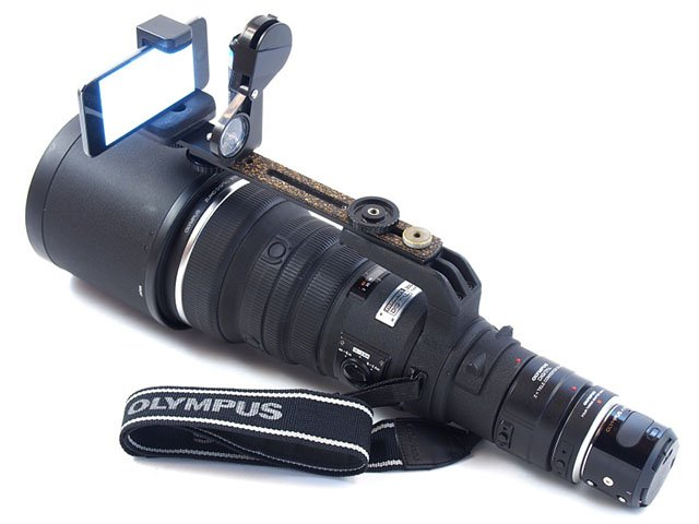 Rocket Camera : Check out this rocket launcher camera made with an olympus air and