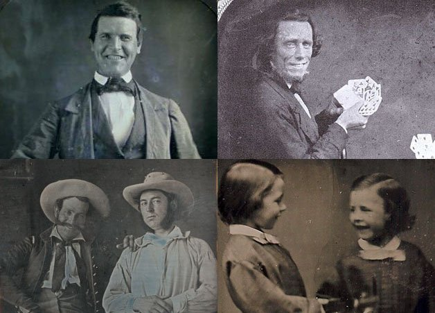The Earliest Known Photos of People Smiling