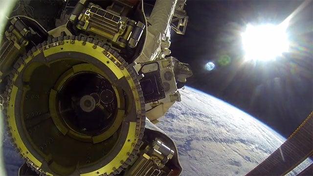 Experience a NASA Spacewalk Through the Lens of a GoPro Camera