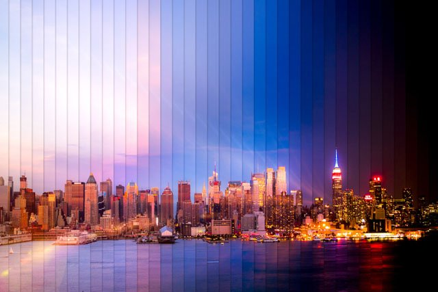 New York: 38 Photos spanning 2 hours and 3 minutes