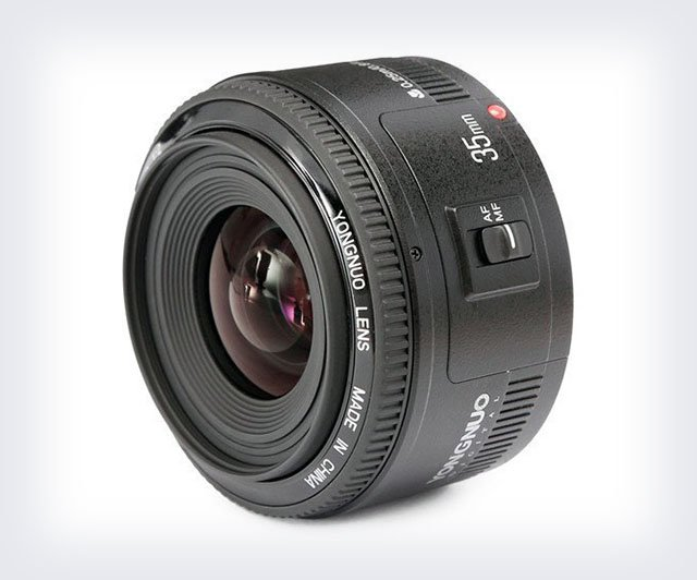 Yongnuo Launches Its 35mm f/2 Lens for Canon EF
