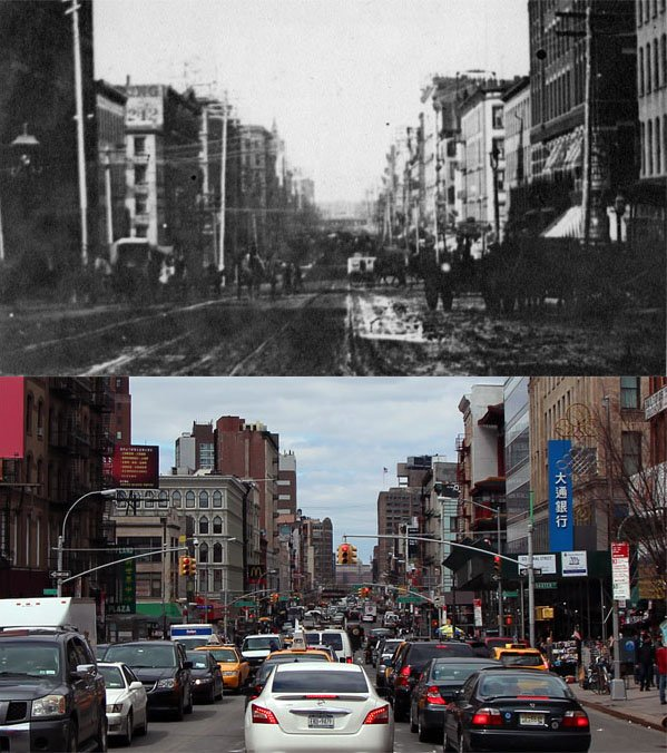 Photographer Reshoots Some of the Oldest Surviving Photos of New York