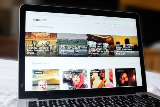 Camyam Website