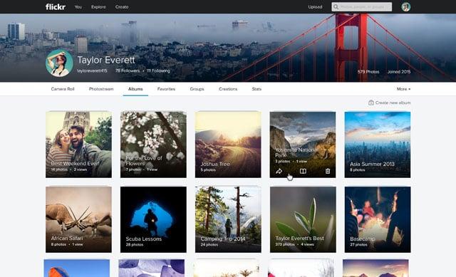 Flickr_Web_Album