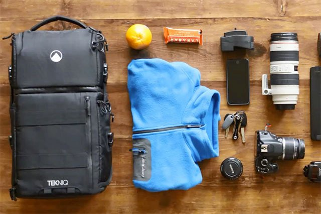 TEKNIQ is a Three-in-One Camera Bag That Lets You Decide What You Need To Carry