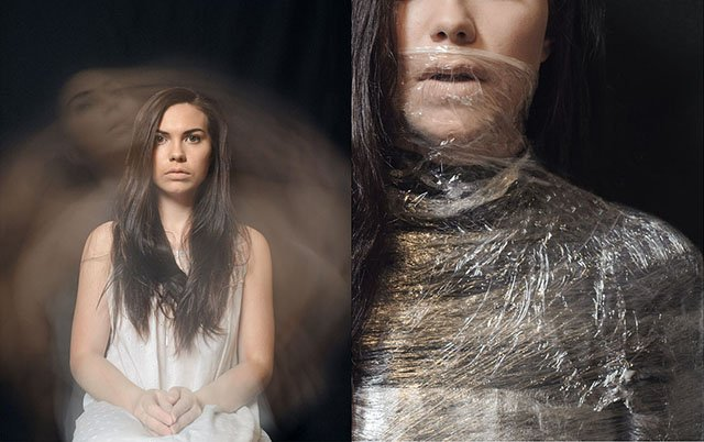 Anxiety Disorder Depicted Through Self-Portraits