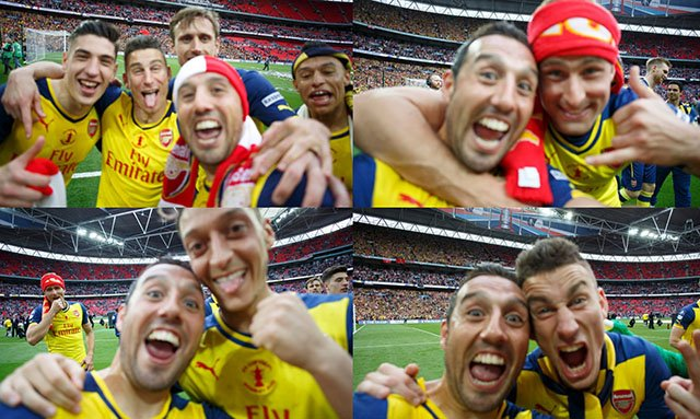 arsenalselfies