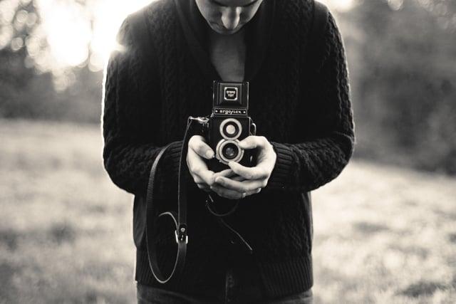 black-and-white-man-person-camera-2