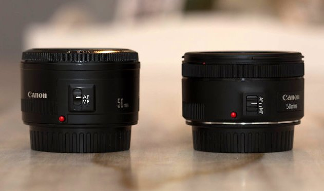 Battle of the Nifty Fifties: Canon's 50mm f/1 8 Lenses