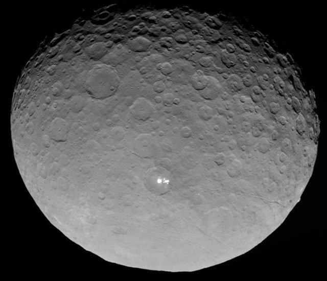 The Closest Photo Yet of the Dwarf Planet Ceres