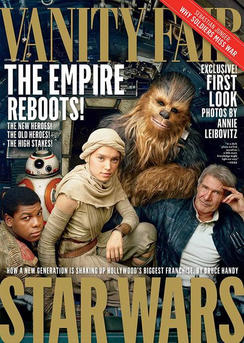 BTS: Annie Leibovitz Shoots the New Star Wars Set for Vanity Fair
