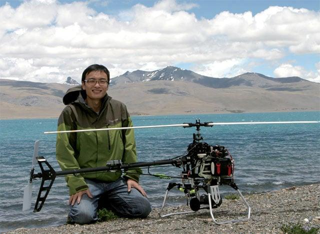 DJI founder Frank Wang