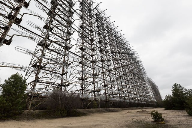 Photos of the Colossal Duga-3 Radar System Built by the Soviet Union