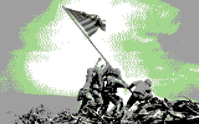 """Raising the Flag on Iwo Jima"" by Joe Rosenthal"