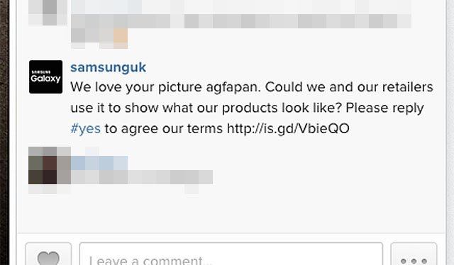 Please Reply #yes to Give Us Unlimited Rights to Your Photo