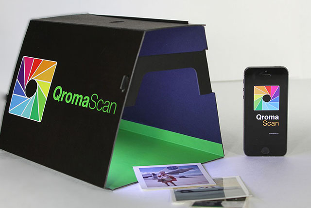 QromaScan: Digitize and Organize Prints Using Your Smartphone and Voice