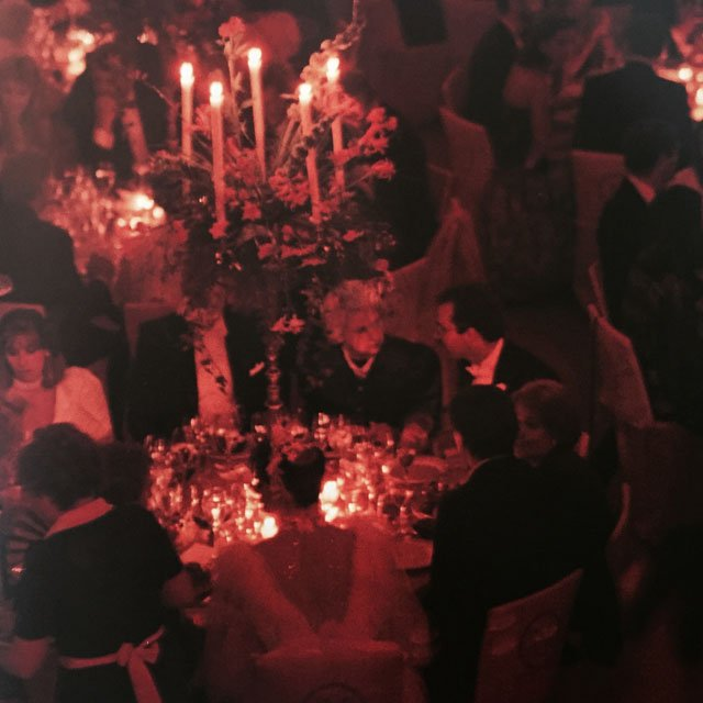 Another red wedding photo from Weddings By Martha Stewart