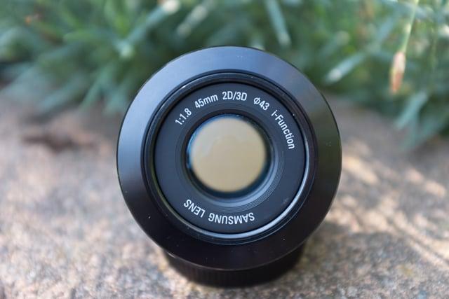 Lens in '2D Mode'