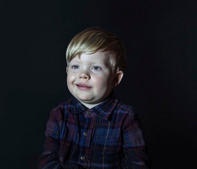 Idiot Box: Portraits of Kids with Eyes Glued to a TV
