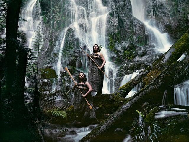 Noel Pearse & Dominique Pere Huka Falls, North Island New Zealand, 2011