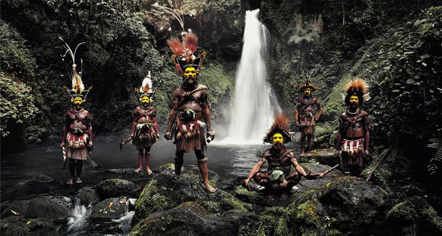 Portraits of the Disappearing Tribes of the World