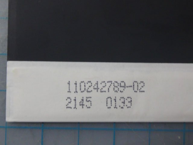 The serial number?