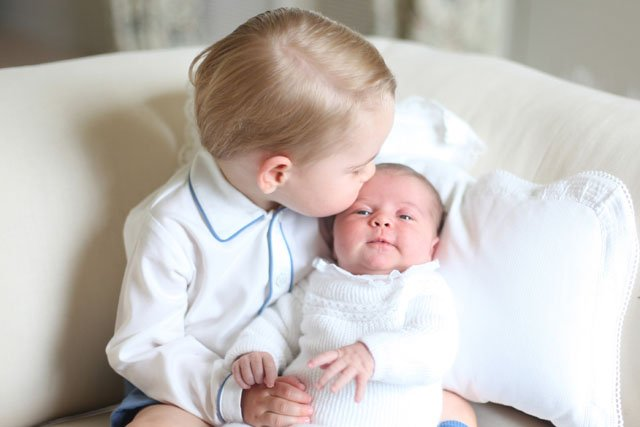 Kate middleton shot her own royal baby portraits