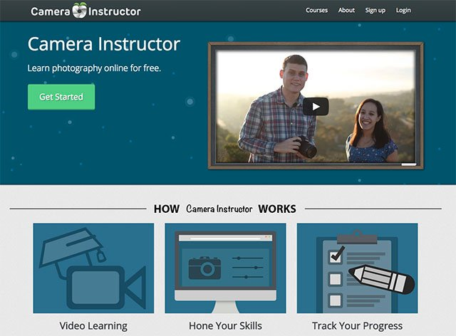 Camera Instructor Offers Free and Interactive Online Photo Courses