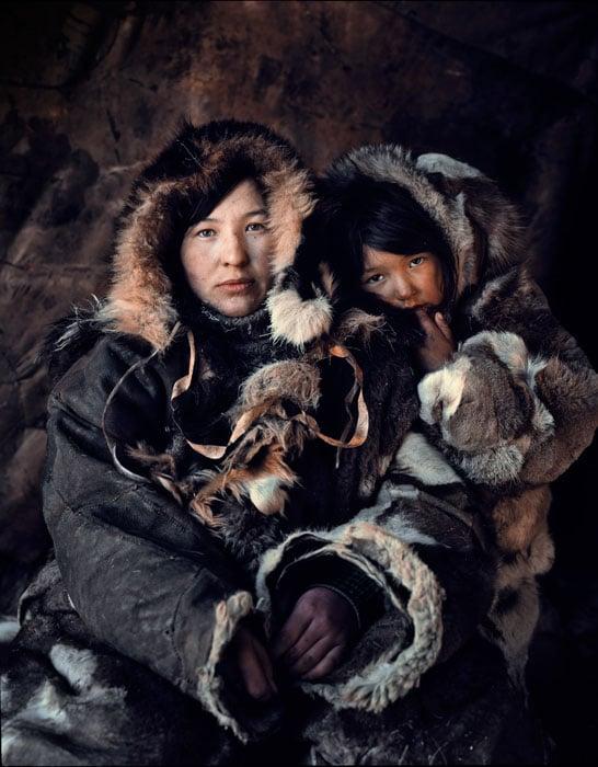 Oxana Teyunrultett & Oleasya Etguest, Second Brigade Chukotka Russia, 2012