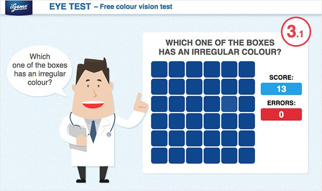 How's Your Color Vision? This Simple Game Will Tell You