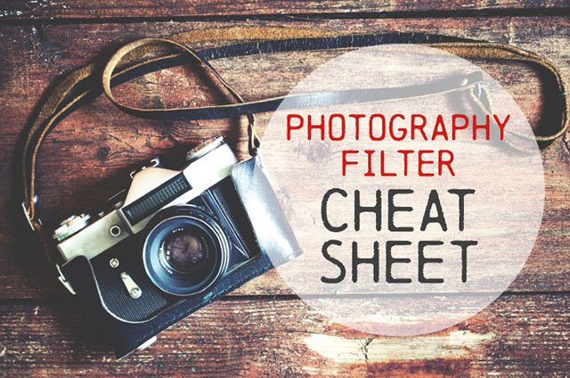 A Simple Visual Guide to Photographic Lens Filters