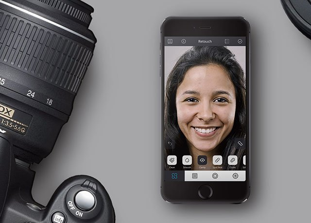 Relook: High-End Portrait Retouching Tools for iOS