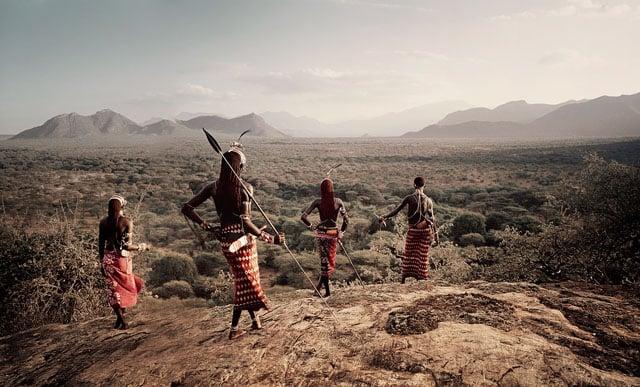 Nyerere, Loingu, Lewangum & Lepokodou Kaisut Desert Kenya, 2010