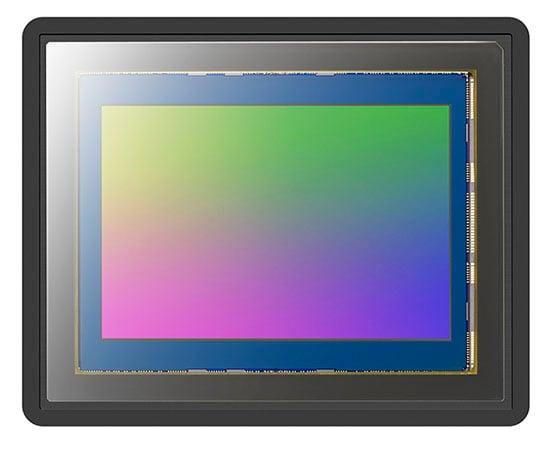 The back-illuminated full frame sensor in the a7R