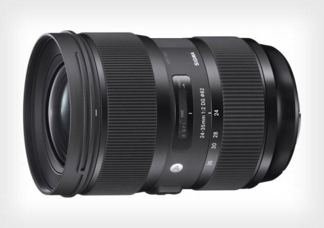Sigma 24-35mm f/2 Art ra mắt: chất lượng tương đương vài ống kính cao cấp - 77754