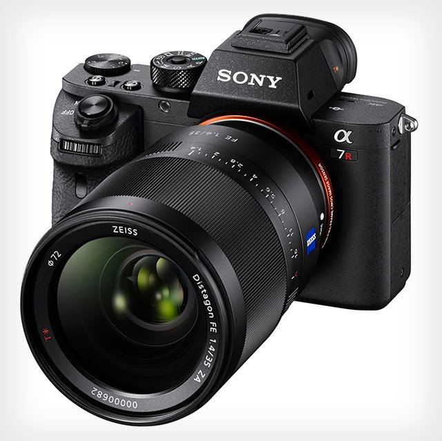 the new camera features the worlds first back illuminated full frame cmos sensor which shoots 424