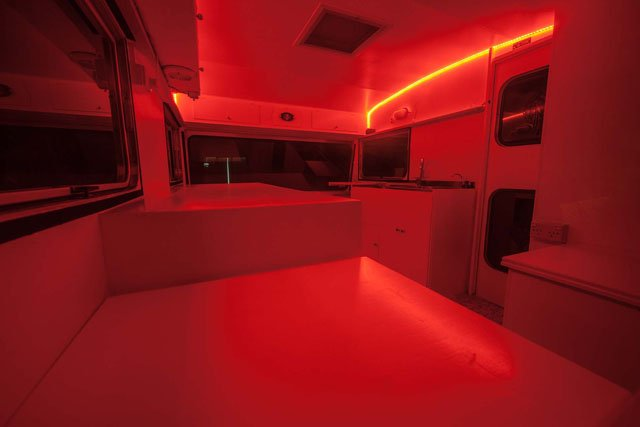 How I Turned A Caravan Into A Mobile Darkroom For Wet
